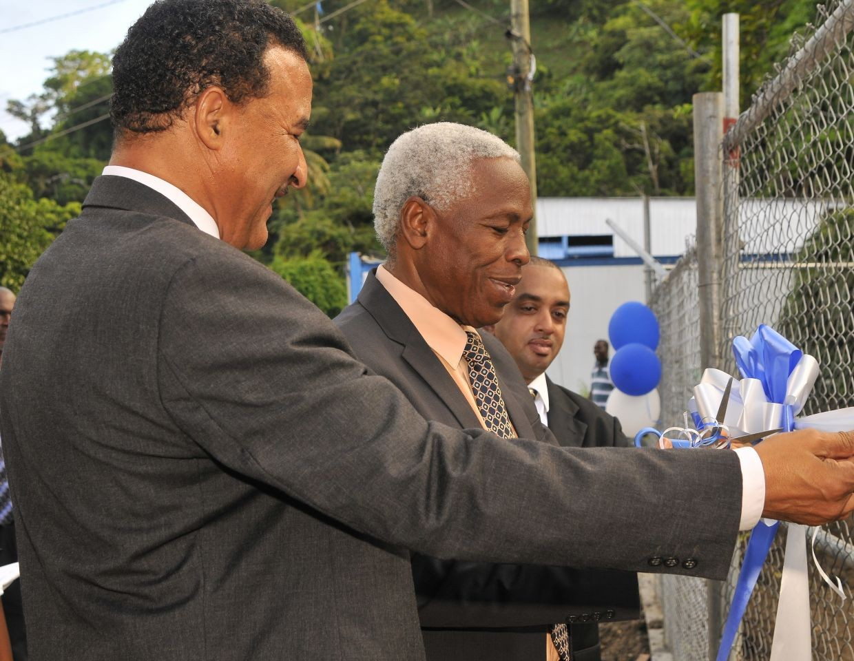 NAWASA commissions Mt. Reuil Water System in St. Patrick