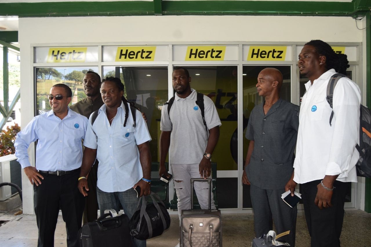 NAWASA Welcomes Home Employees From Dominica